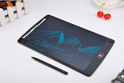 JAKROO Tableta LCD de 12 Pulgadas Dibujo Arte Tableta memo Digital ...