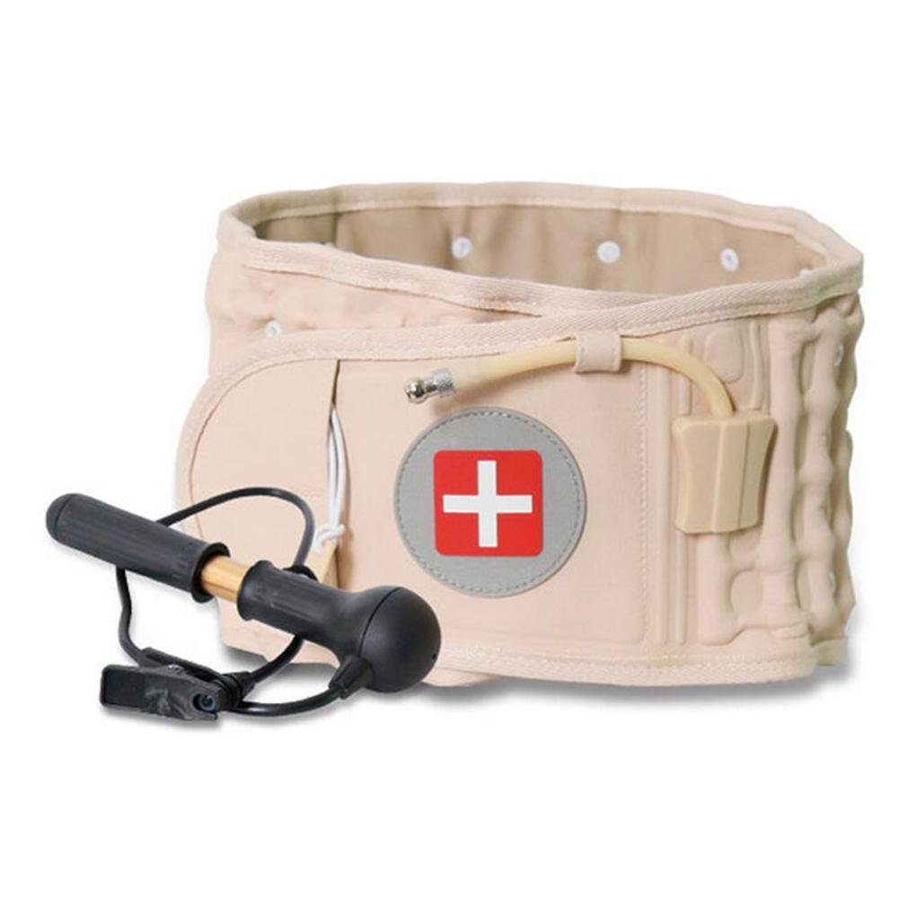 LPY-Lumbar Support Lumbar Disc Herniation Massager Spinal Air Traction Back Belt Magnet Physiotherapy by Waist support