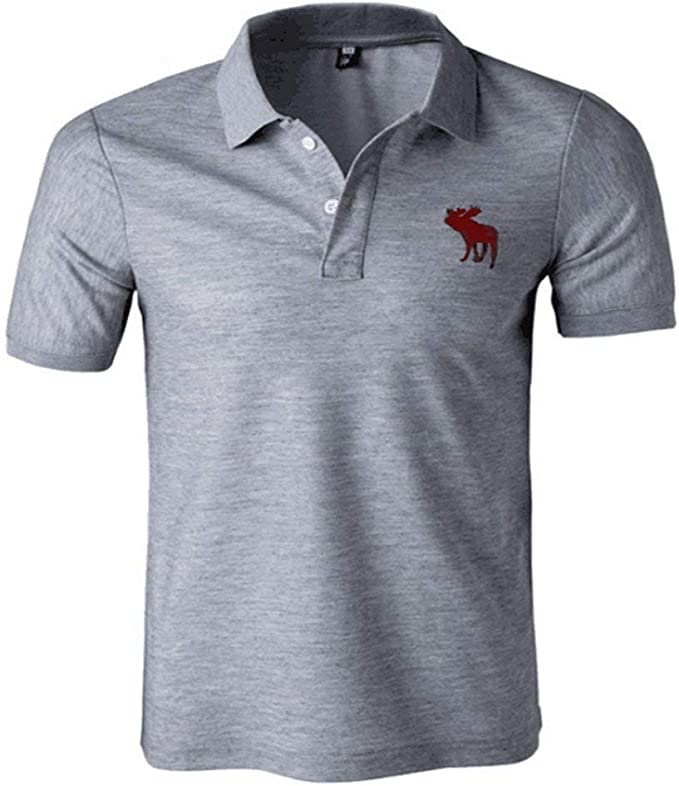 Hombre Camisa De Polo De Golf Casual De Verano para Chic Hombres ...
