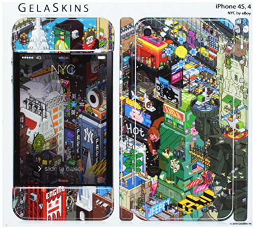 GelaSkins Protective Skin for the iPhone 4 'NYC' with Access to Matching Digital Wallpaper Downloads