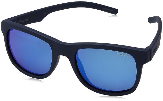 Polaroid PLD 8020/S JY CIW 46 Gafas de sol, Azul (Rubber ...