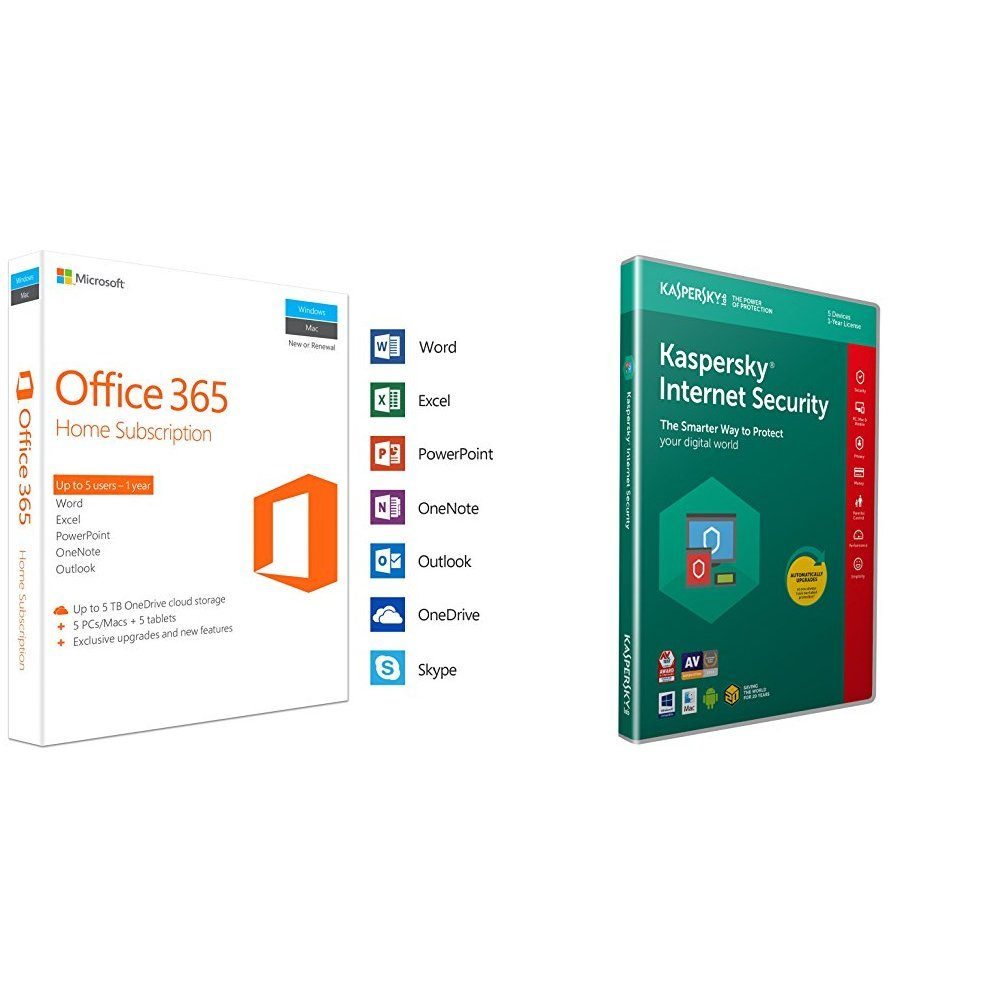 Microsoft Office 365 Home | 5 Devices | 1 Year | PC/Mac | Download ...