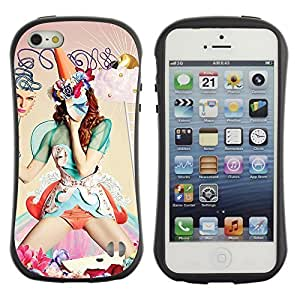 High quality Case for Apple iPhone 6 plus 6 plus Abstract Fantasy Woman