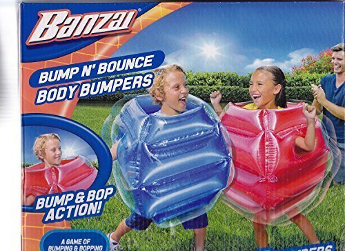 Best Price! Bump n Bounce Body Bumpers - 2 bumpers included by Banzai