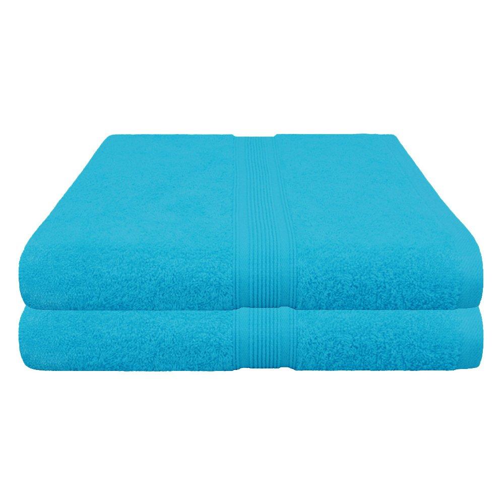 Handtücher   Duschtücher Set Set Set - 6x Handtuch + 2x Duschtuch - 100% Baumwolle - Farbe Türkis B01MFDQC5B Sets d4eb62
