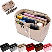 KING DOO Felt Purse Organizer Insert Bag Organizer Handbag Tote Bag in Bag Fits for Speedy, Neverfull, Longchamp