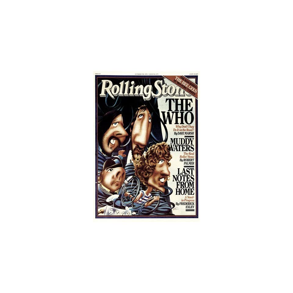 The Who, 1978 Rolling Stone Cover Poster by Robert Grossman (9.00 x 11.00)