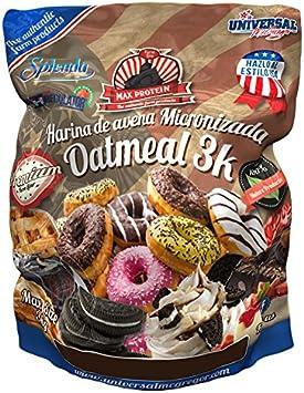 Max Protein Oatmeal Harina de Avena - 3000 gr: Amazon.es: Salud y ...