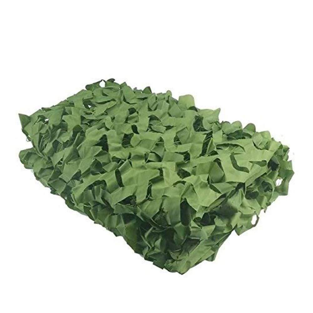 vert 1.5x3m ZHAOHUI Filet De Camouflage Voile D'ombrage Crème Solaire Filet De Camouflage Tissu Oxford De Plein Air Vert Armée Jungle Camping La Photographie (Couleur   vert, Taille   3x6m)