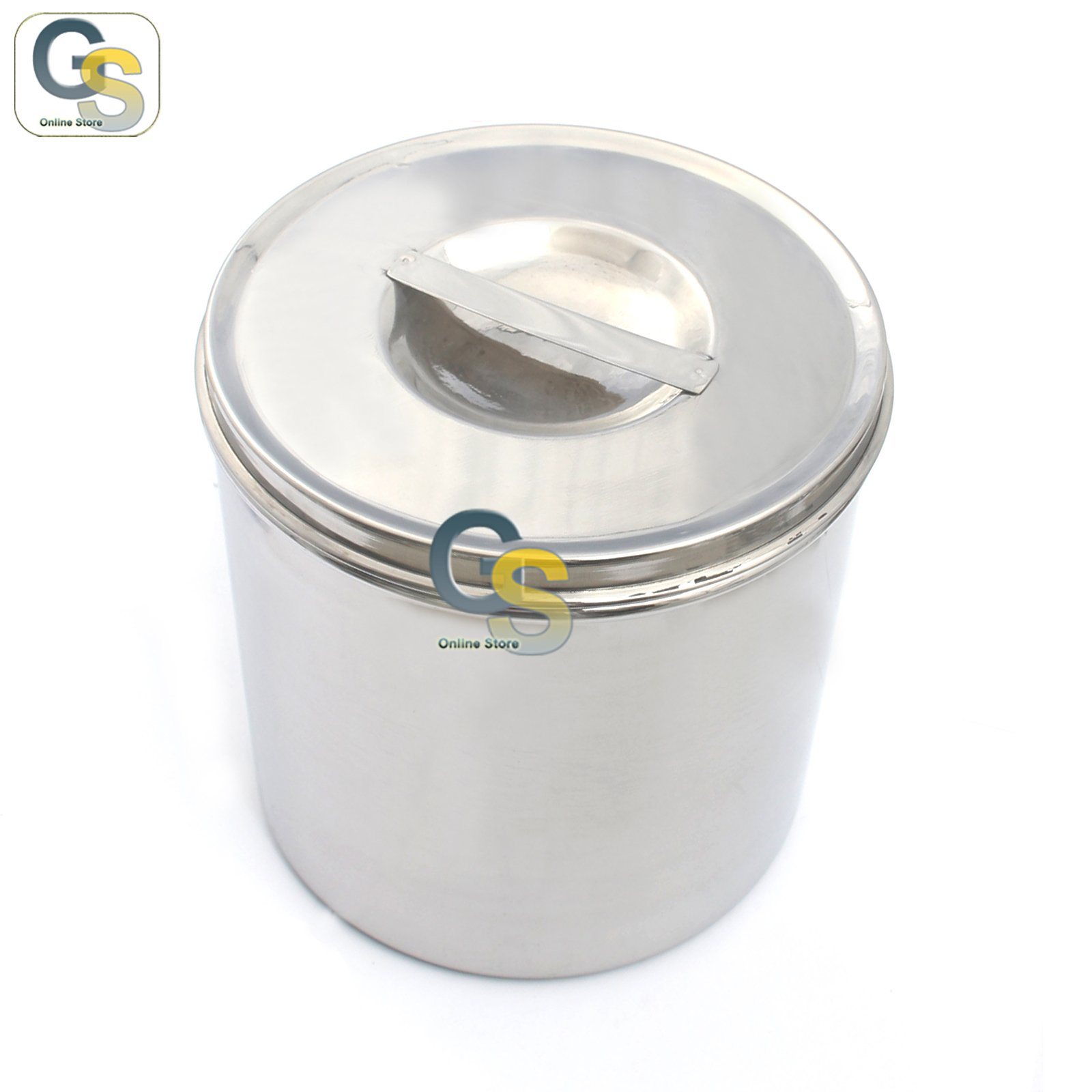 G.S STAINLESS STEEL DRESSING JAR BEST QUALITY