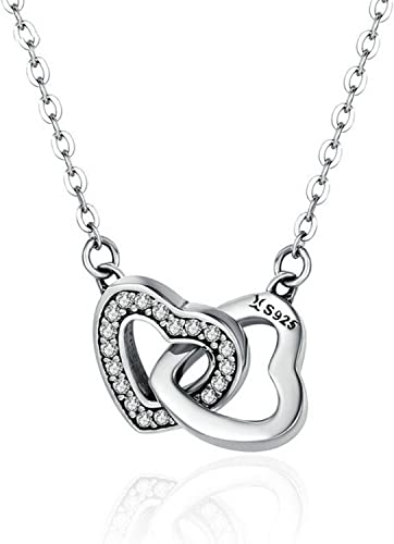 CS-DB Pendants Gift for Lovers Silver Necklaces