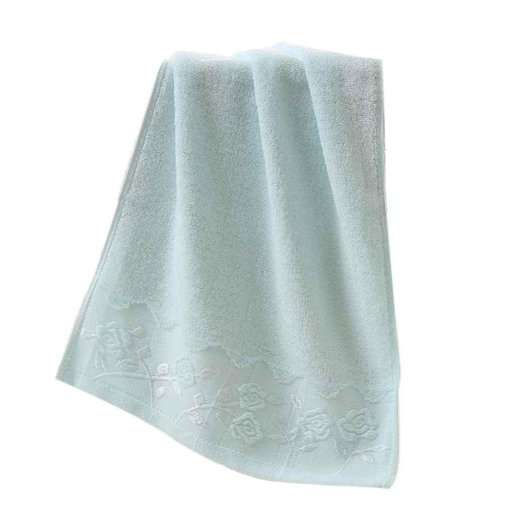 fish 35 * 75 suave bordado de flores de algodón toalla de cara Algodón secado rápido Toallas de playa: Amazon.es: Hogar