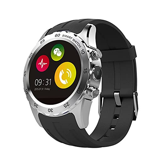 4 opinioni per FENGSHI Smartwatch Waterproof with Magnetic Wireless Support SIM Card NFC