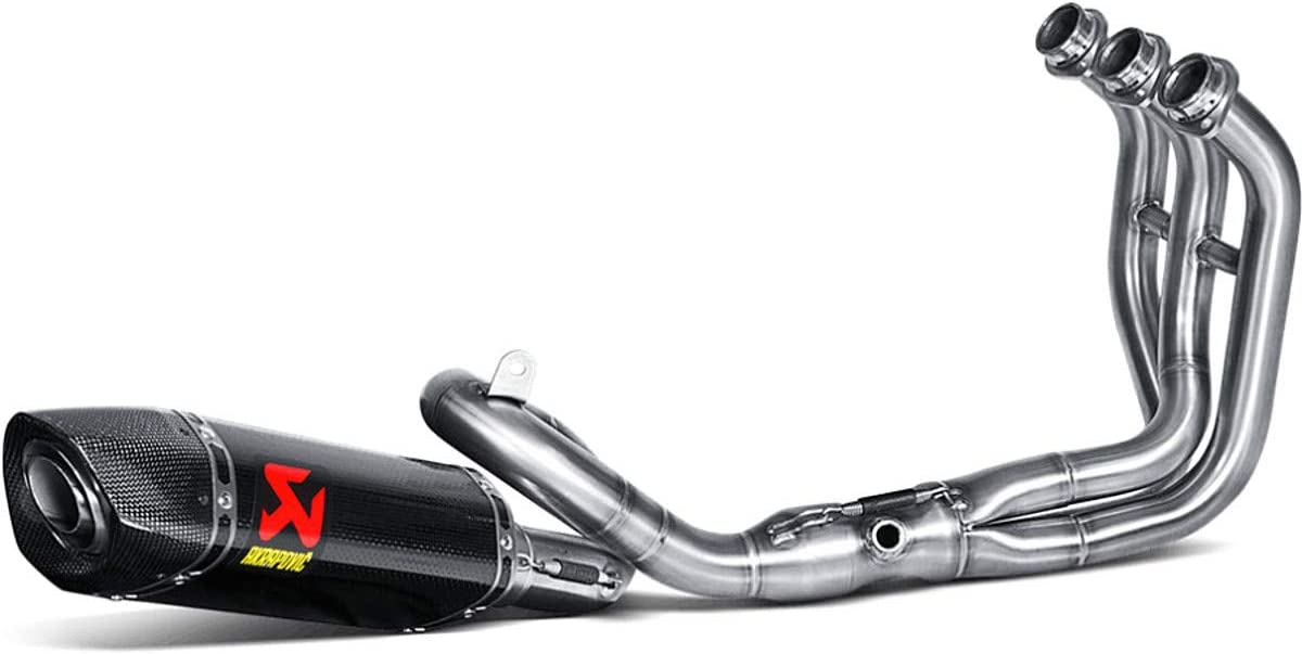 Akrapovic Racing Full System Exhaust (Carbon Fiber) for 14-17 Yamaha FZ-09