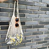YingKu Cotton Net Shopping Tote Ecology Market String Bag Organizer, New Fashion for Street Snap