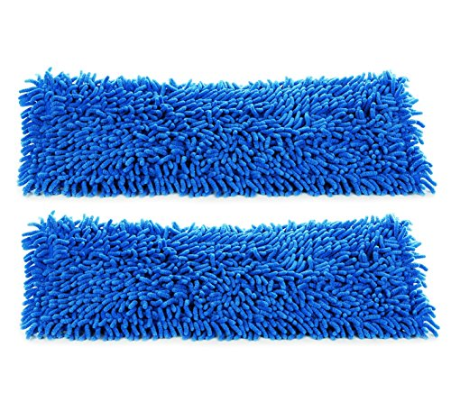 Real Clean 18 Inch Chenille Microfiber Wet Mop Pad (Pack of -