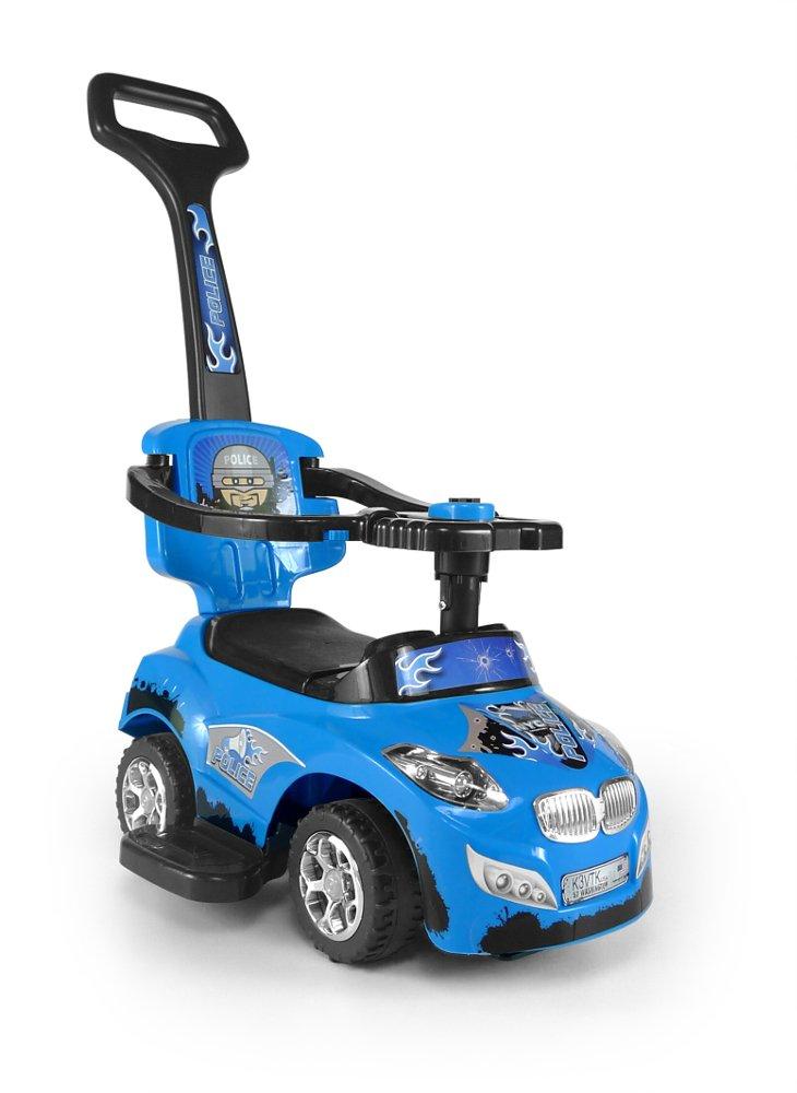 Milly Mally 3en 1Happy Ride On de voiture (Bleu)
