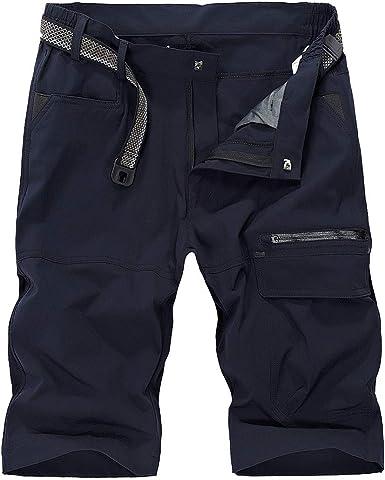 Donhobo Short cargo imperm/éable /à s/échage rapide pour homme