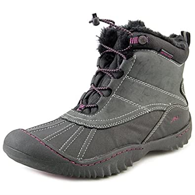 JBU Womens Pullman Round Toe Ankle Cold Weather Boots