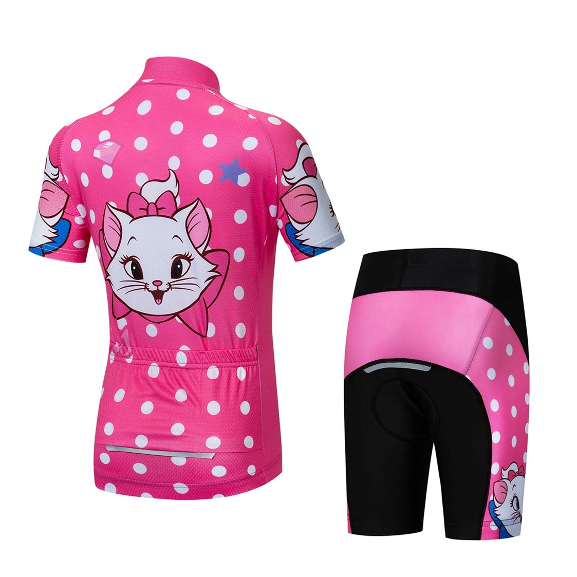 053ce1aeb26 weimostar Kids Cycling Jersey Set Bike Jersey Shorts Children Road Mountain  MTB Bicycle Clothes Top bottom  Amazon.co.uk  Sports   Outdoors