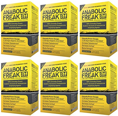 (6 PACK) - Pharma Freak - Anabolic Freak | 96's | 6 PACK BUNDLE by Pharmafreak