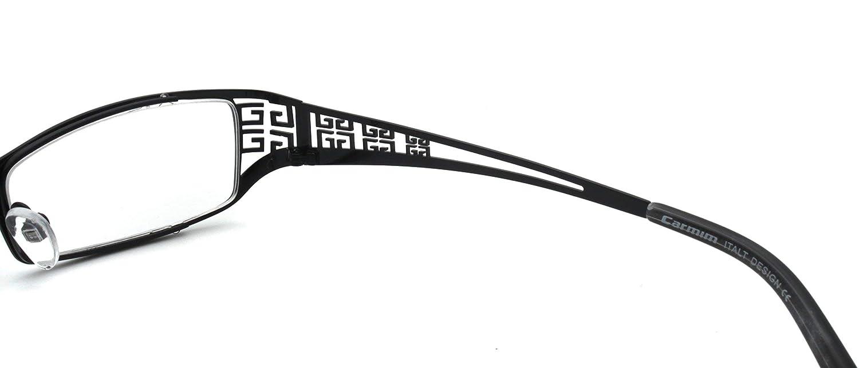 Amazon.com: Rectángulo lente metal lentes Hollow chino ...