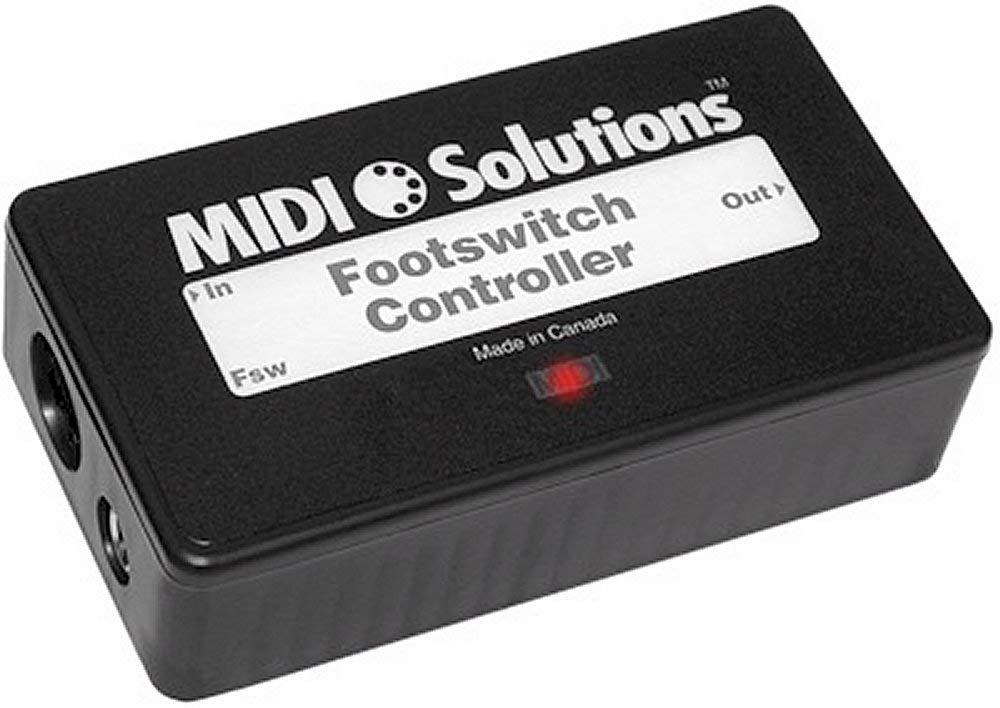 MIDI Solutions Footswitch Controller by MIDI Solutions