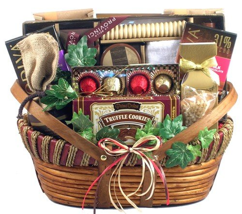 Spa and Chocolate Gift Basket for Women by Gifts to Impress
