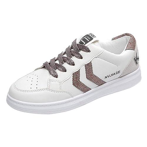Zapatillas Deportivas de Mujer Zapatos Sneakers Zapatillas Mujer Running Casual Yoga Calzado Deportivo de Exterior de Mujer Al Aire Libre Fitness: ...