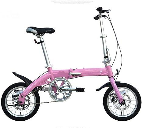 MASLEID 14 Pulgadas Bicicleta Plegable de la aleación de Aluminio ...