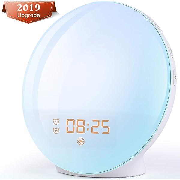 Philips Despertador HF3531/01 - Despertador de Luz lez ...