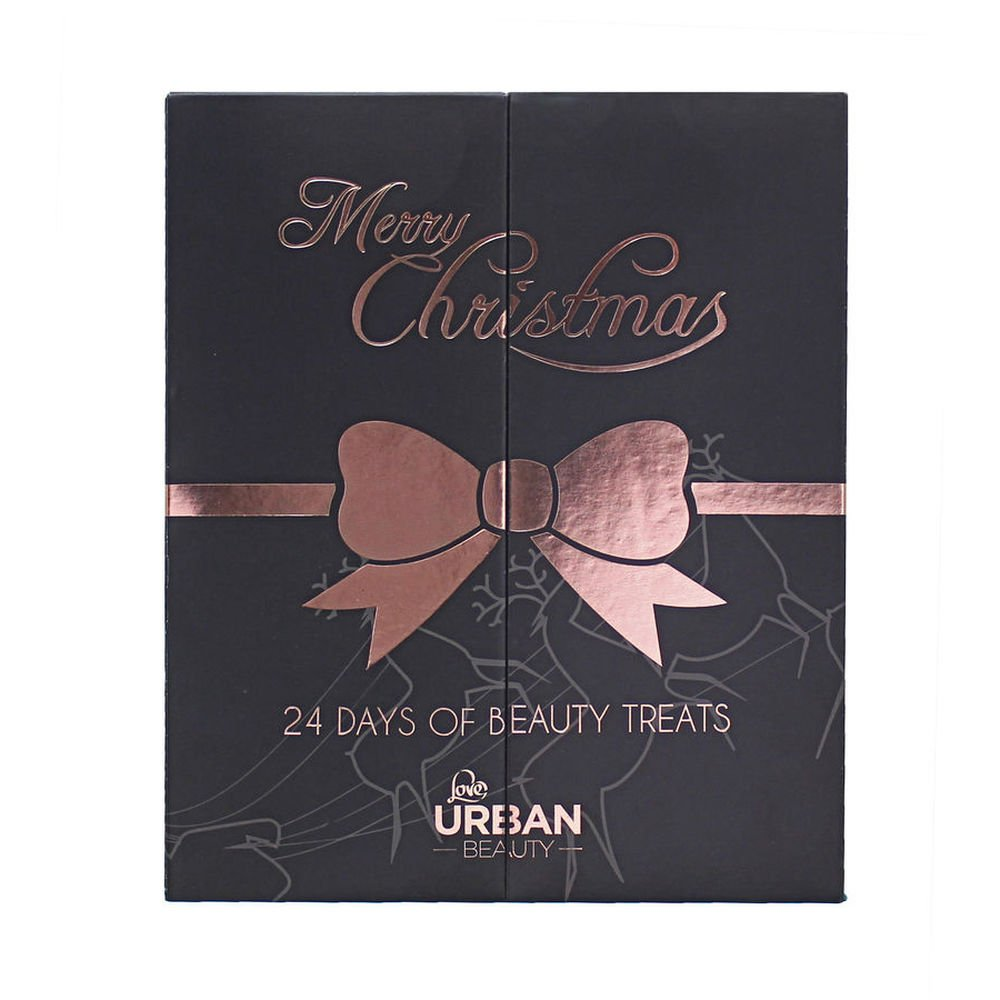 Beauty Products 24 Piece Advent Calendar Urban Beauty