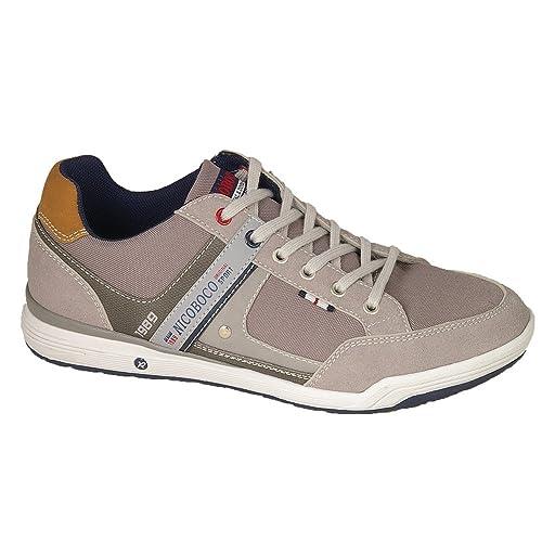 NICOBOCO Zapatillas Casual Hombre Gris: Amazon.es: Zapatos y complementos
