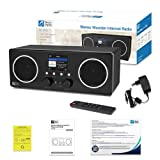 Ocean Digital WiFi/DAB/FM Internet Stereo Radio