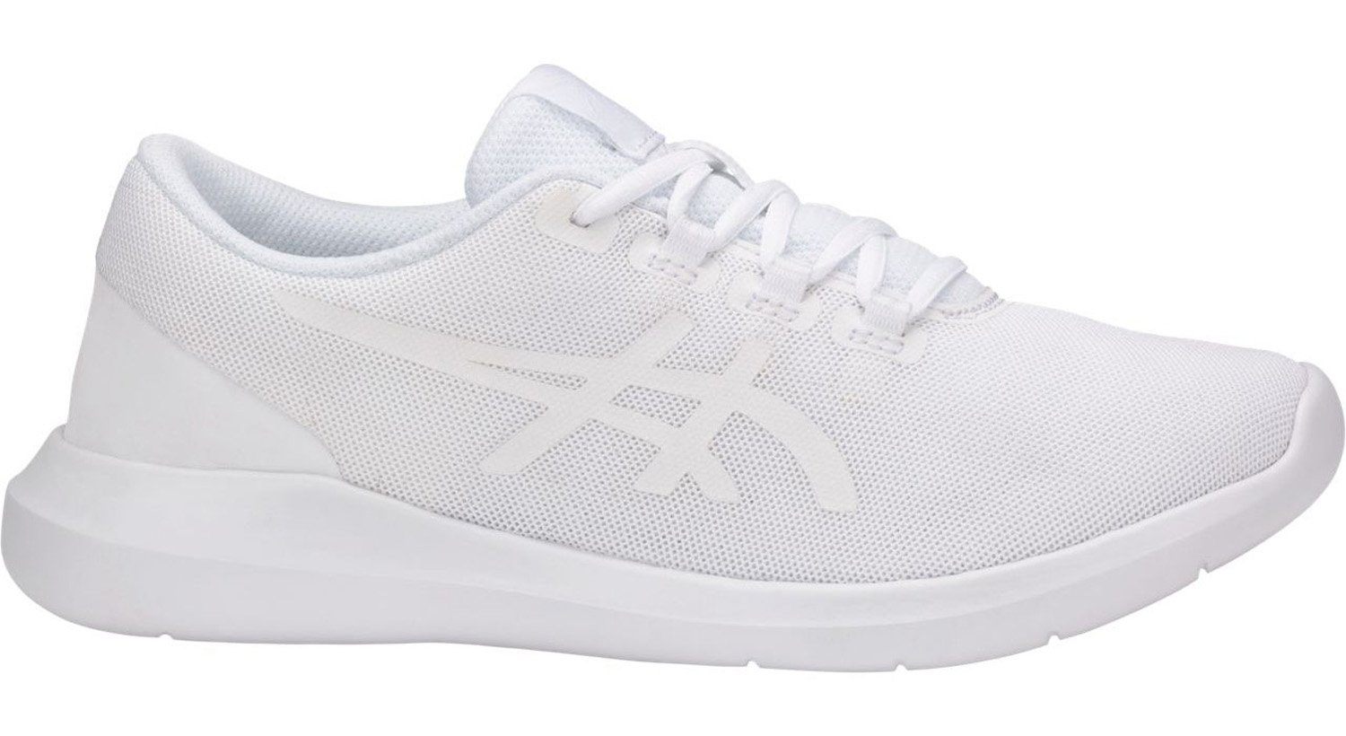 ASICS Metrolyte II Shoe Women's Walking, White/White/White 8.5 B(M) US
