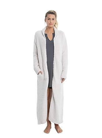 Barefoot Dreams CozyChic Full Zip Robe at Amazon Women s Clothing store  56e93d7dd