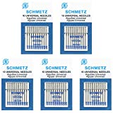 #5: 50 Schmetz Universal Sewing Machine Needles -  Assorted sizes - Box of 5 cards