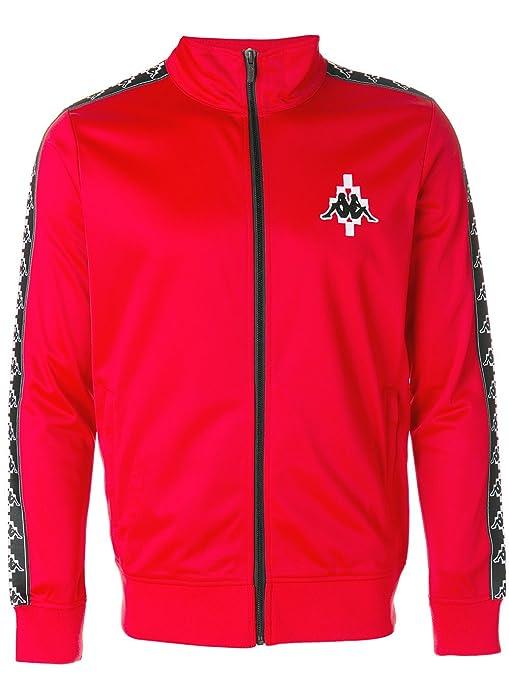 grande vendita bfea5 e740a Marcelo Burlon X Kappa Men's Cmba040f176042202001 Red ...