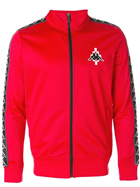 nuovo concetto af303 91b71 MARCELO BURLON X KAPPA Men's Cmba040f176042202001 Red Polyester ...