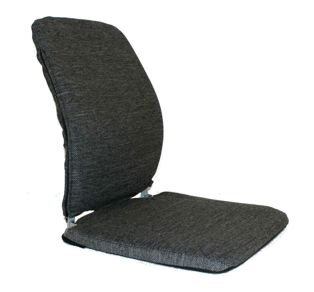 QBC McCartys Sacro Ease Model BRSCMCF-Charcoal Memory Foam Series Charcoal Fabric Lumbar Seat Support for car, Bus, Taxi, Boat, Airplane - Plus QBC Ergonomic Seating eBook