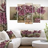 Bouquet of Pink Peonies Floral Fine Art Wall Photgraphy on Canvas Art Wall Photgraphy Artwork Print