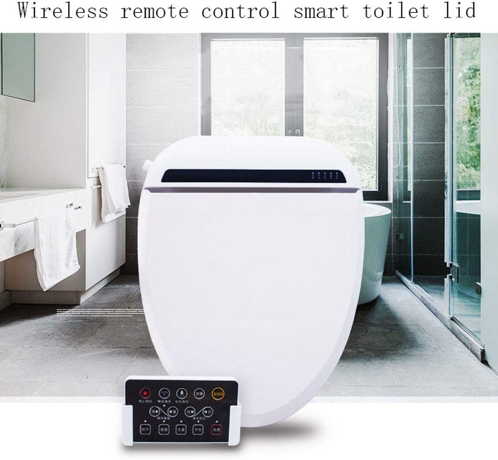 Amazon Com Yui Smart Toilet Seat Bidet Attachment Set Heated Warm Water Self Cleaning Nozzle Soft Feminine Clean Dryer Butt Comfortable Massage White Accessories For Bathroom Sports Outdoors