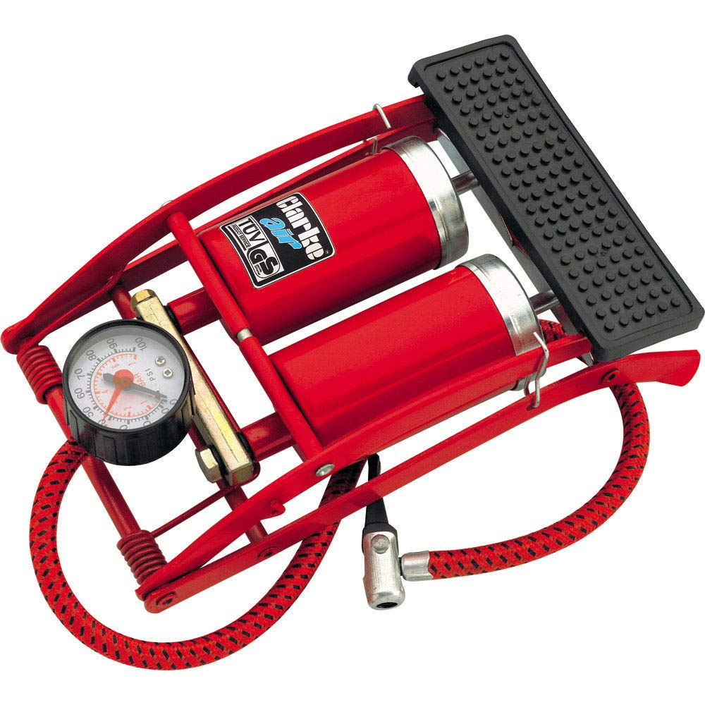 Clarke FP200 Double Barrel Tyre Inflator Foot Pump