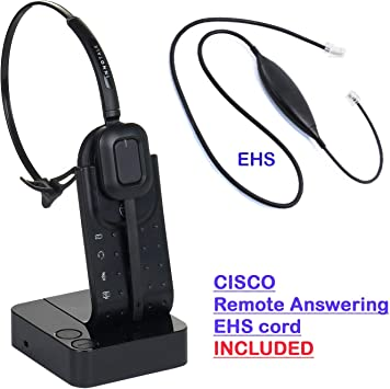 Amazon Com Cisco 6945 7942g 7945g 7962g 7965g 7975g 7821 7841 7861 8811 8841 8845 Compatible Wireless Headset Office Products