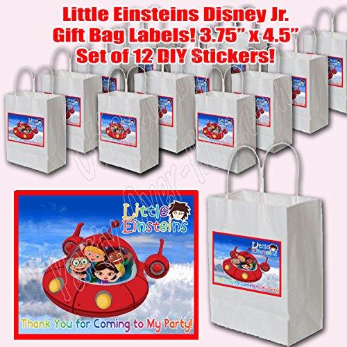Little Einsteins Sticker Labels Party Favors Supplies Decorations