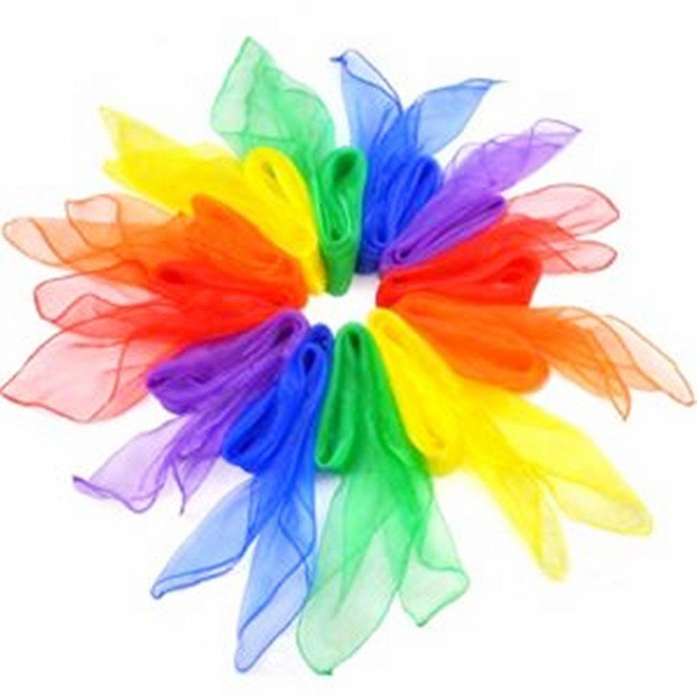 X Demarkt Bufandas de Danza Pañuelos de Colores de Juegos Bufandas de