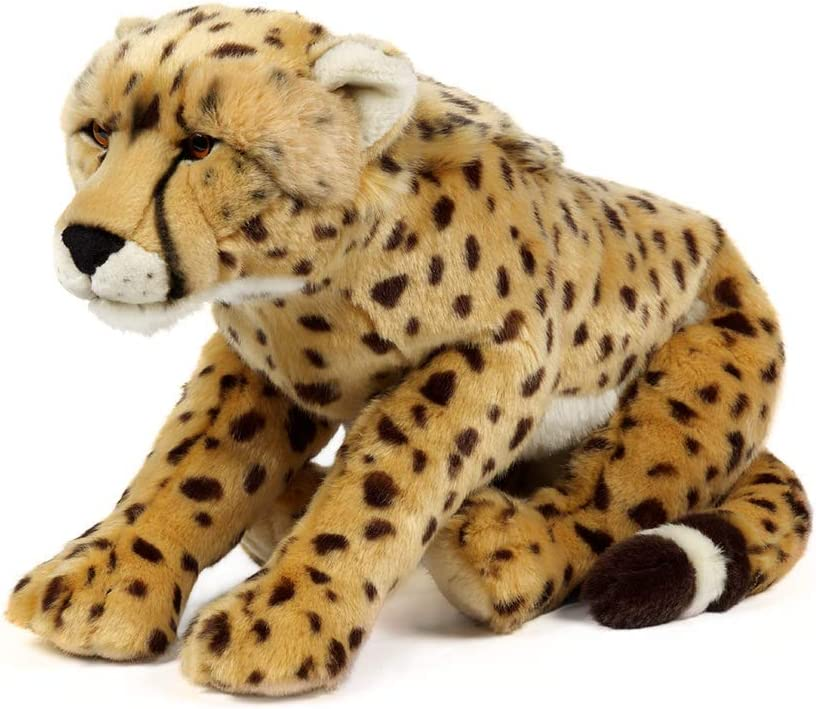 Living Nature Soft Toy - Large Cheetah (45cm)