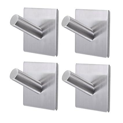 Amazon Com Bathroom Towel Hooks 3m Self Adhesive Wall Hooks Heavy