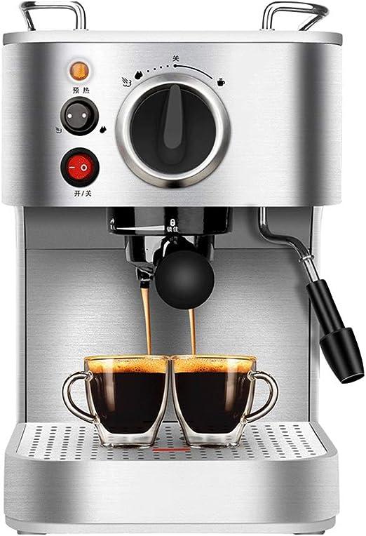 Máquina de espresso, Espumadora, 19 Bares 920W 1,6L de capacidad ...
