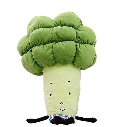 missley Cute verduras mano cálido peluche Hold Almohada Peluche Peluche Brócoli 55 cm/21.6 peluche cojín muñeca juguete nuevo